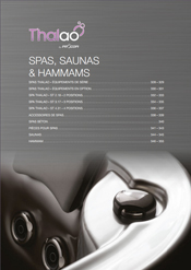 Catalogue Spas et Saunas